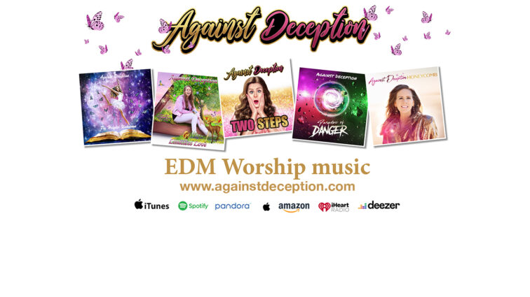 New Christian Pop Music Against Deception Artist can be found on all streaming platforms